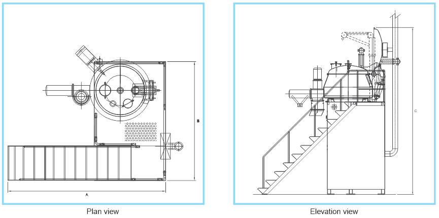 Plan And Elevation Cuisine : Plan view elevation tapasya