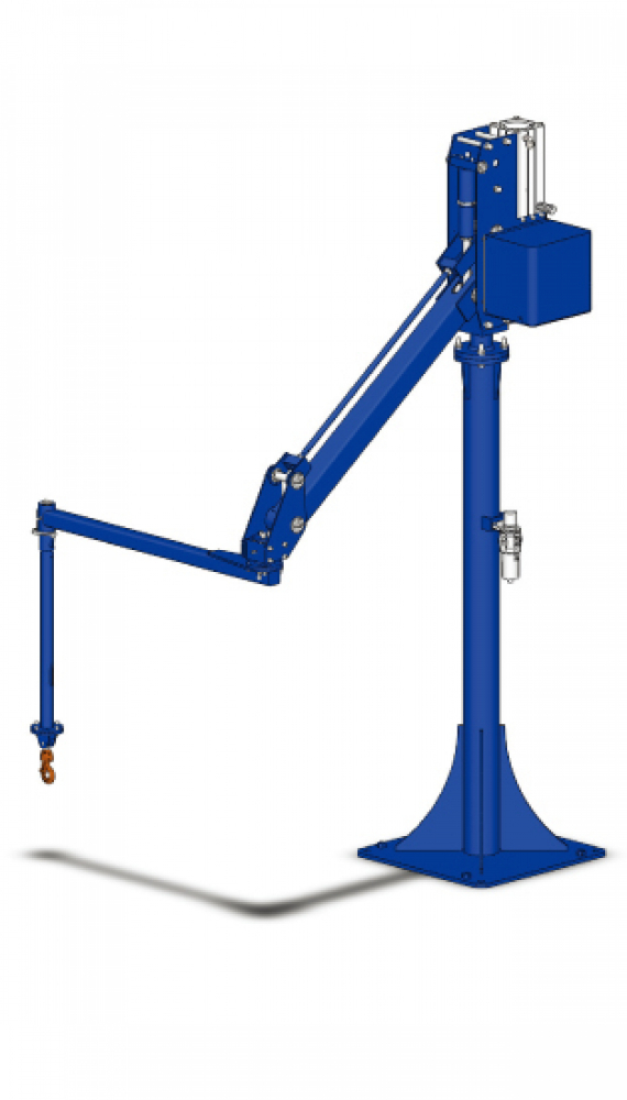 BMS Series 2 Axis Floor Mounted