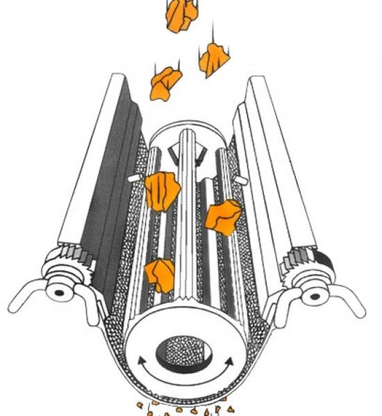 oscillating granulator detail 2