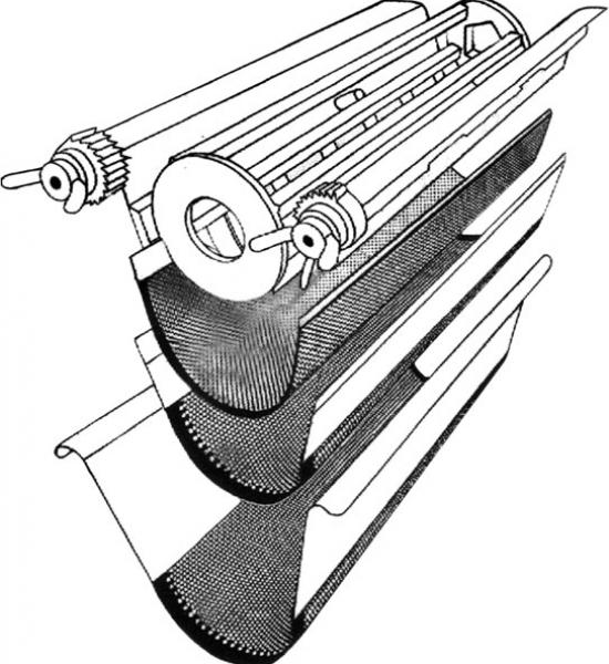 oscillating granulator detail 4