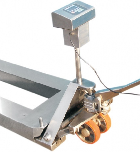 pallet weighing system detail 1