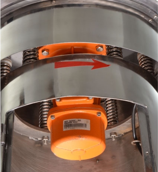 vibratory sifter detail 4