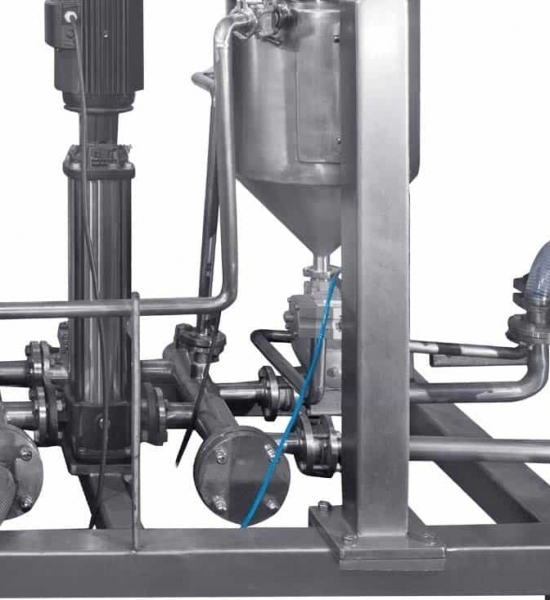 CIP/WIP Sanitary Piping